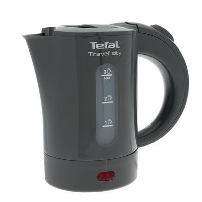 Чайник электрический Tefal KO120B30, пластик, 0.5л, 650Вт, серый - Фото 1