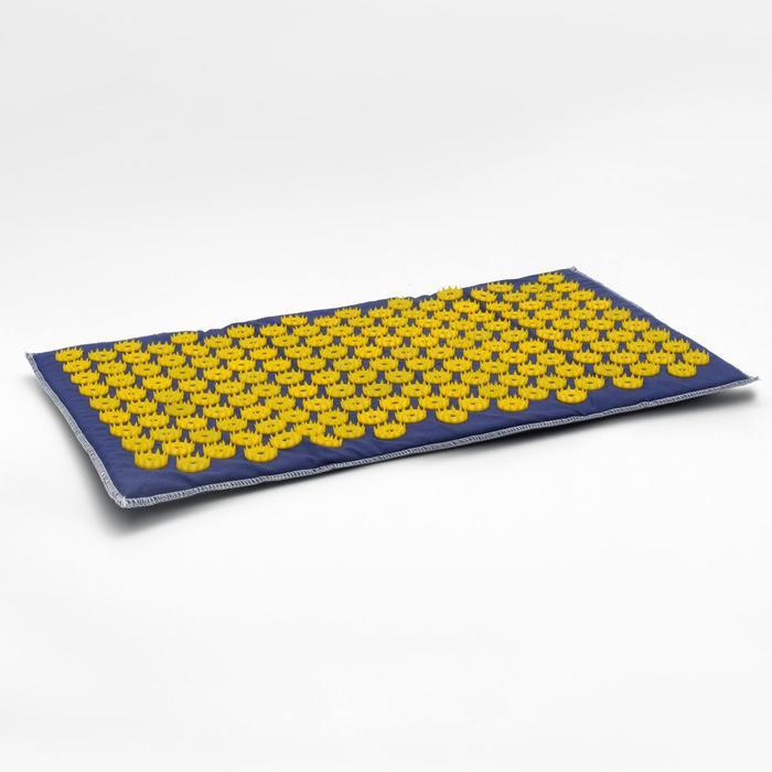 Аппликатор игольчатый «Коврик» на мягкой подложке, 171 колючка, синий, 32х51 см