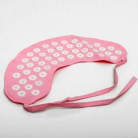 Аппликатор игольчатый «Воротник», 48 колючек, розовый, 40х15 см