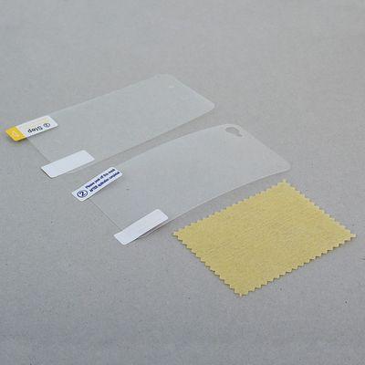 Защитная пленка для Apple iPhone 4G/4S, прозрачная (для экрана и задней крышки)