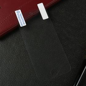 Защитная пленка LuazON, для iPhone 5/5S/5C/SE, прозрачная
