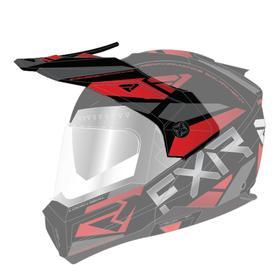 Козырек FXR Maverick Modular Team, 201744-1020-00, цвет Черный/Красный Ош