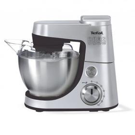 Кухонная машина Tefal QB408D38, 900 Вт, 6 скоростей, 4 л, серебристая Ош