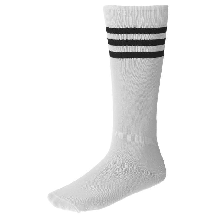 Гетры футбольные, размер 38-39, цвет белый