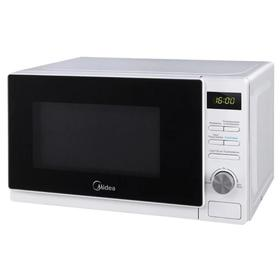 Микроволновая печь Midea AM 720 C 4 E-W, 700 Вт, 20 л, чёрно-белая