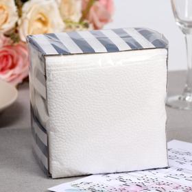 Салфетки бумажные «Лилия», 1 слой, 24*24 см, 100 шт.