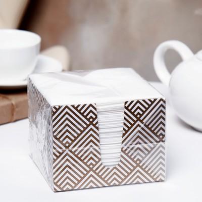 Салфетки бумажные «Перышко», 2 слоя, 24*24 см, 85 шт. - Фото 1