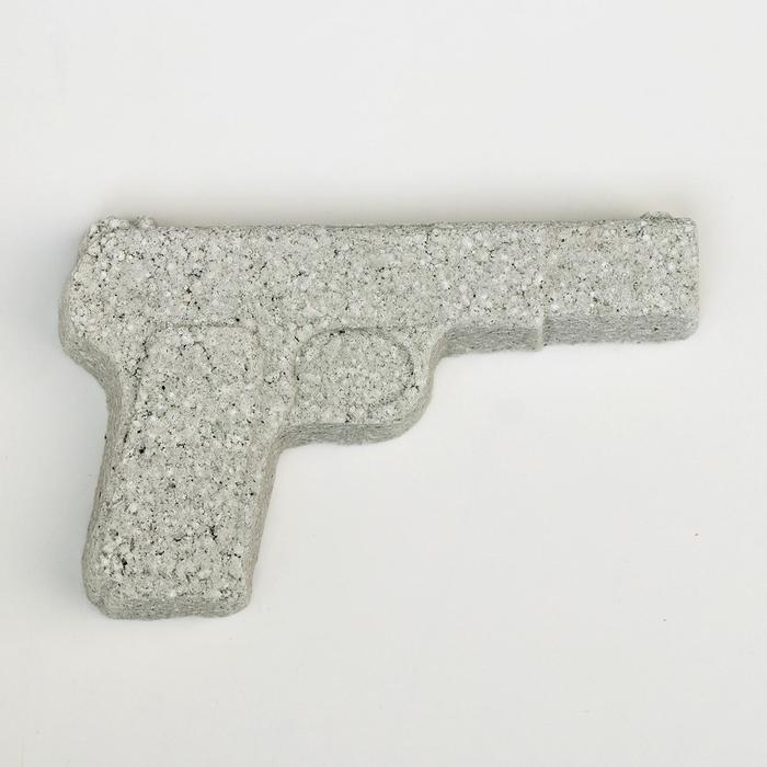 Бомбочка для ванны Пистолет, ромашка, 80 г