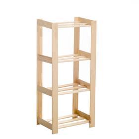 Стеллаж деревянный 'Браво-2', 110х50х35 Ош
