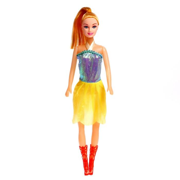 Кукла-модель Анна в платье, МИКС