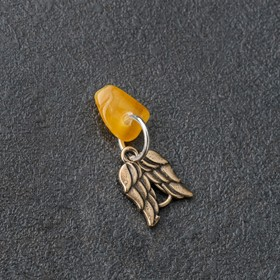Брелок-талисман 'Вдохновение', натуральный янтарь Ош