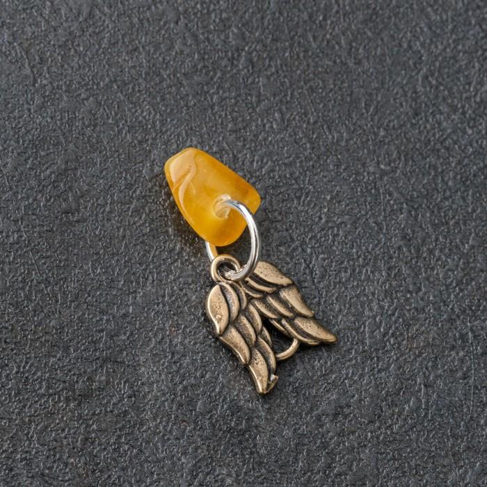 Брелок-талисман Вдохновение, натуральный янтарь