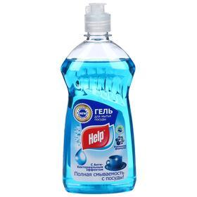 Средство для мытья посуды HELP Антибактериальный гель, 500 мл Ош
