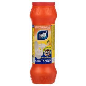 Чистящий порошок Санитарный HELP Лимон 400 г Ош