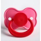 Пустышка латексная классическая «Бабочка» с кольцом, от 0 мес., цвета МИКС - Фото 5