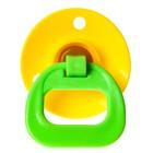 Пустышка латексная классическая «Звёздочка» с кольцом, от 0 мес., цвета МИКС - Фото 8