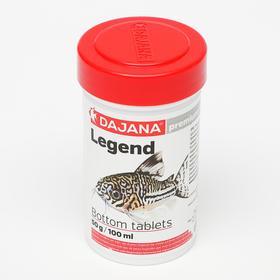 Корм Dajana Legend Bottom Tablets для рыб, 100 мл., 50 г