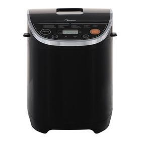 Хлебопечь Midea BM-220Q3-BL, 580 Вт, 14 программ, до 1 кг, выбор цвета корочки, чёрная