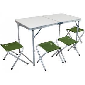 Набор мебели складной кемпинговый JUNGLE CAMP Event 120, цвет зелёный Ош