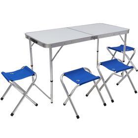 Набор мебели складной кемпинговый JUNGLE CAMP Event 120, цвет синий Ош