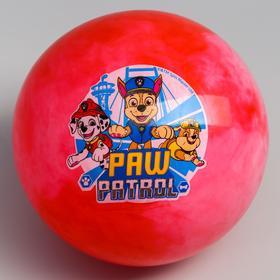 Мяч детский Paw Patrol 22 см, 60 гр, мрамор, МИКС