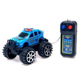 Джип «Полиция», на дистанционном управлении, работает от батареек, МИКС Ош