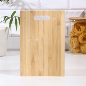 Доска разделочная Доляна «Бамбуковый лес», 29×19,5 см