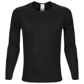 Фуфайка мужская LAPLANDIC, цвет чёрный, размер 54
