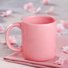 """Кружка """"Офисная"""", розовая, 0.35 л"""