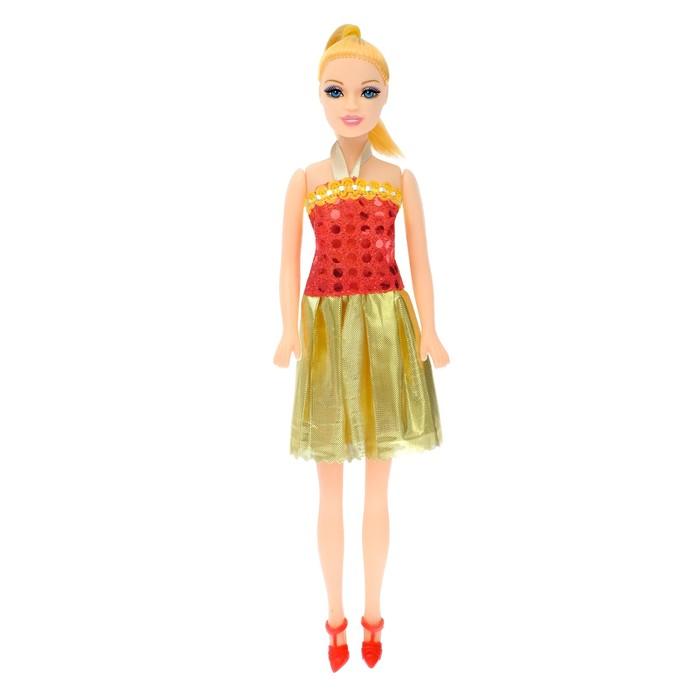 Кукла модель «Наташа» в платье, МИКС