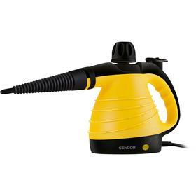 Пароочиститель Sencor SSC 3001YL, 1000 Вт, 350 мл, 3 бар, желтый