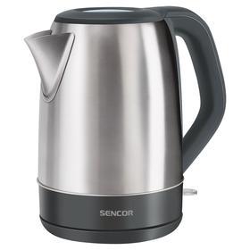 Чайник электрический Sencor SWK 1711SS, металл, 1.7 л, 2150 Вт, серебристый