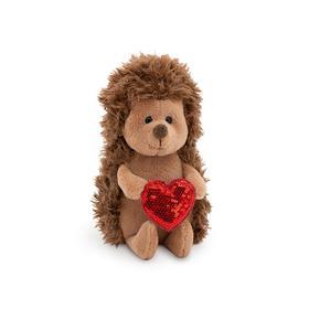 Мягкая игрушка «Ёжик Колюнчик: Пламенное сердце», 15 см