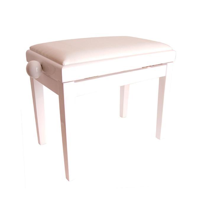 Банкетка Rin HY-PJ018B-GLOSS-WHITE белый/белый