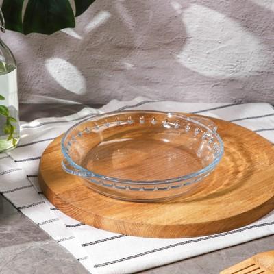 Блюдо для запекания круглое Доляна, 1 л - Фото 1