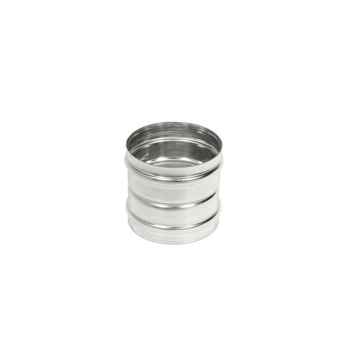 Адаптер моно М-М, нержавеющая сталь AISI 304, толщина 0.8 мм, d=130 мм