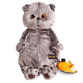 Мягкая игрушка «Басик и мышка», 22 см