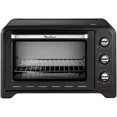 Мини-печь Moulinex OX464810, 1600 Вт, 33 л, 240°С, 6 программ, чёрная