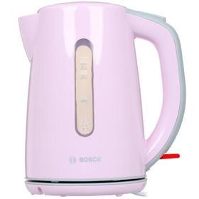 Чайник Bosch TWK7500K, пластик, 1.7 л, 2200 Вт, розовый