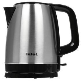 Чайник Tefal KI150D30, металл, 1.7 л, 2400 Вт, серебристый