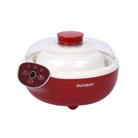 Йогуртница Oursson FE2305D/DC, 1.5 л, 3 режима, керамика, бордовая Ош
