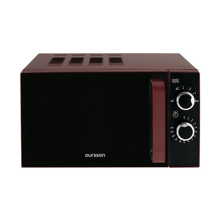 Фото #1: Микроволновая печь Oursson MM2005/DC, 700 Вт, 20 л, бордовая