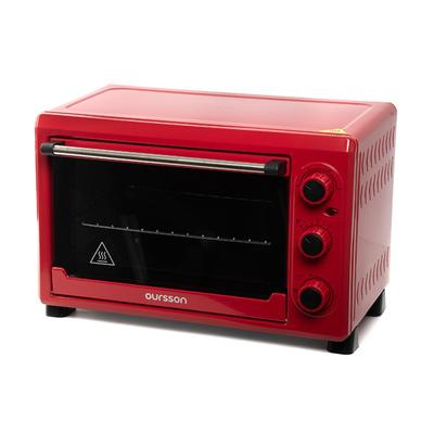 Мини-печь Oursson MO2620/RD, 1500 Вт, 26 л, 5 режимов, конвекция, красный - Фото 1
