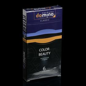 Презервативы DOMINO CLASSIC Colour Beauty 6 шт Ош