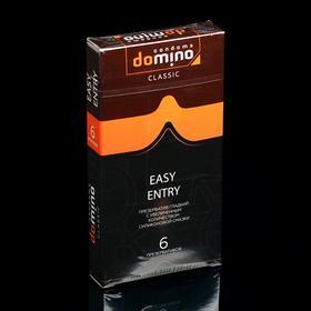 Презервативы DOMINO CLASSIC Easy Entry 6 шт Ош