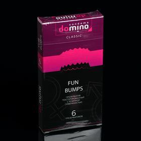 Презервативы DOMINO CLASSIC Fun Bumps 6 шт Ош