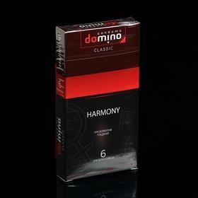 Презервативы DOMINO CLASSIC Harmony 6 шт Ош