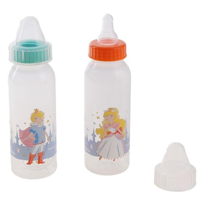 Бутылочка «Принцесса», 250 мл, МИКС