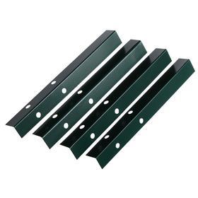 Набор ножек для грядки, 4 шт., зелёные, Greengo Ош