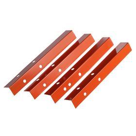 Набор ножек для грядки, 4 шт., оранжевые, Greengo Ош